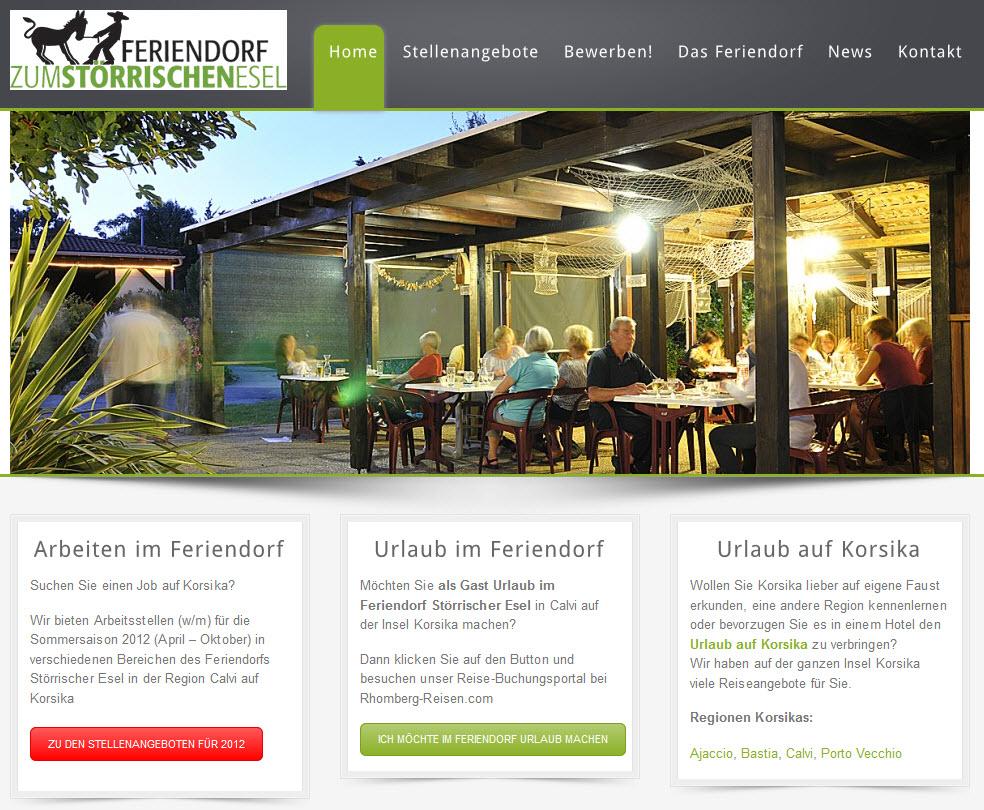Stoerrischeresel.com in neuem Webdesign