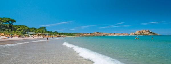 Strand von Calvi