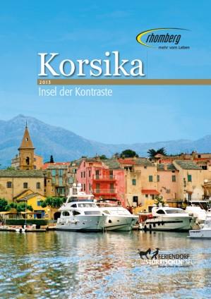 Korsika Katalog 2013