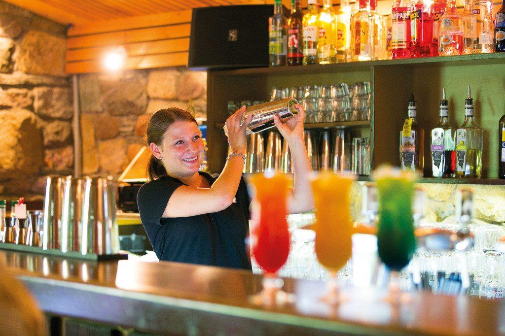 Bar im Feriendorf Zum Störrischen Esel