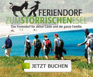 Urlaub auf Korsika im Feriendorf zum Störrischen Esel buchen