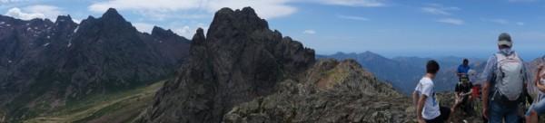 Berge auf Korsika