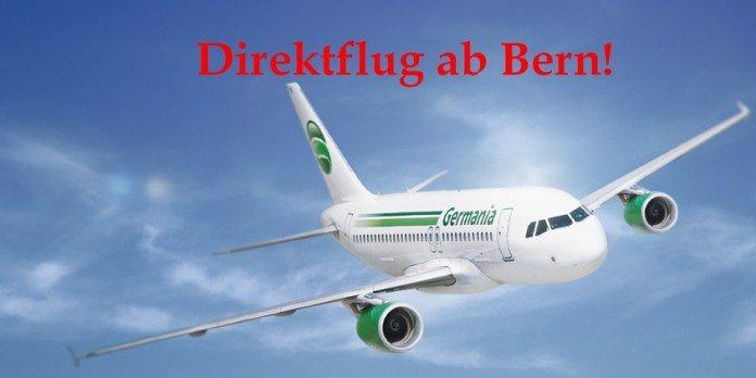 Direktflug ab Bern mit Germania