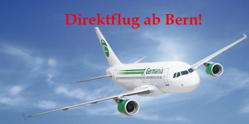 Direktflug von Bern nach Korsika!