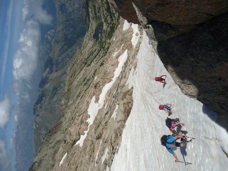 Auf dem Weg zum Gipfel des Monte Rotondo