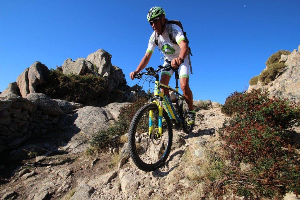 E-Bike Tour Bergab Offroad