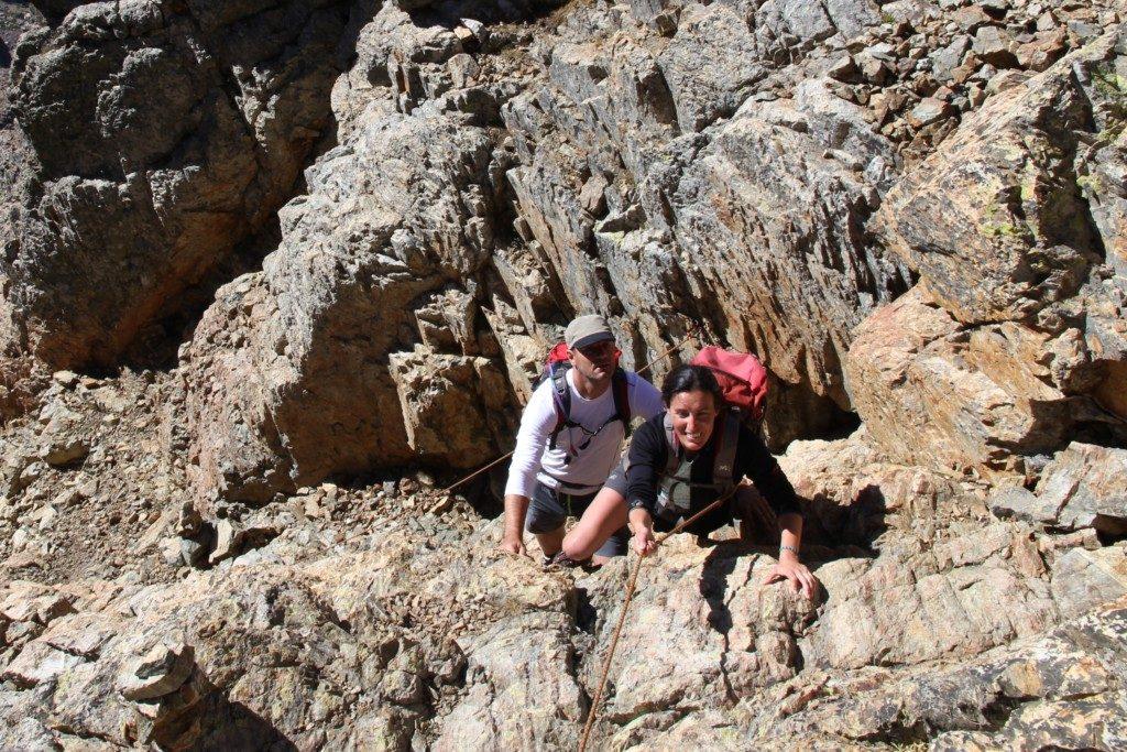 Aufstieg Punta Minuta