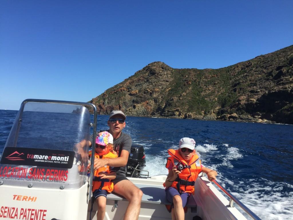 Mit dem 6-PS-Boot nach Scandola – ein Bericht aus dem Rundbrief 2016