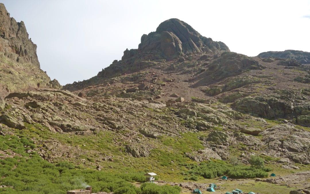 """Endlich am Gipfel des """"korsischen Matterhorns"""" (Paglia Orba)"""