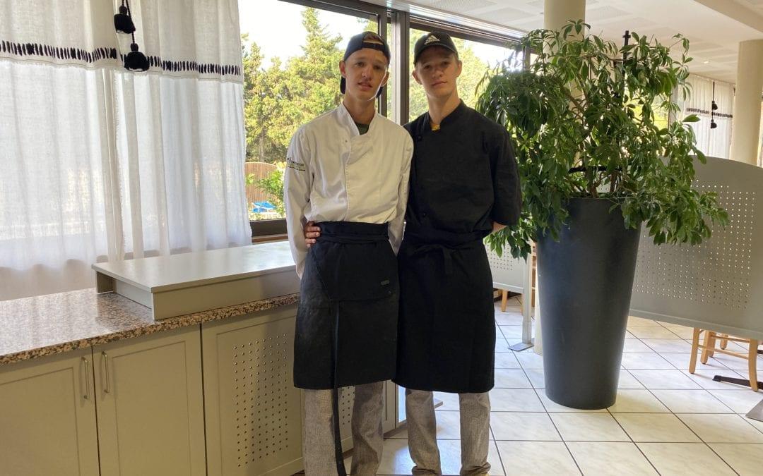 Ein Bericht von unseren französischen Zwillings-Praktikanten